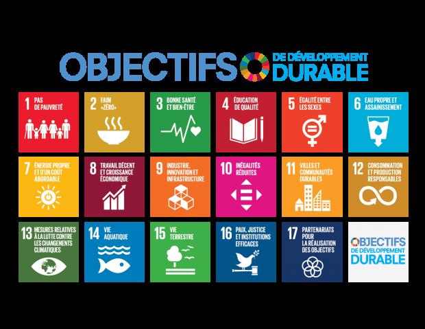 Les 17 Objectifs Développement Durable (www.fonda.asso.fr)